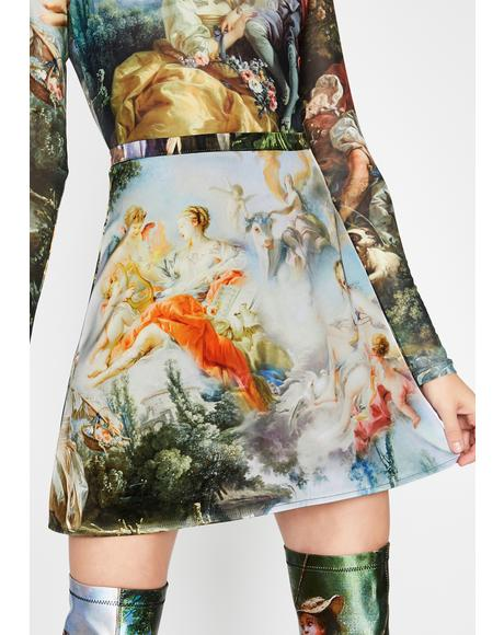 Da Vinci's Demons Mini Skirt