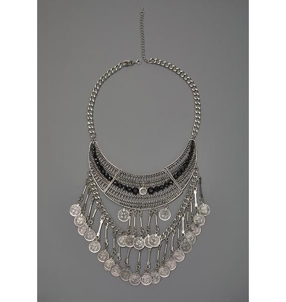 Wandering Soul Statement Necklace