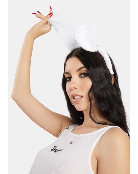 Call Me Bunny Fuzzy Headband