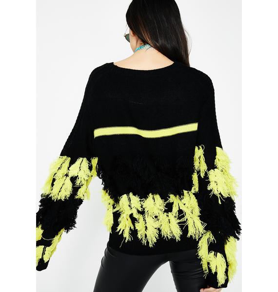 All Night Habit Sweater