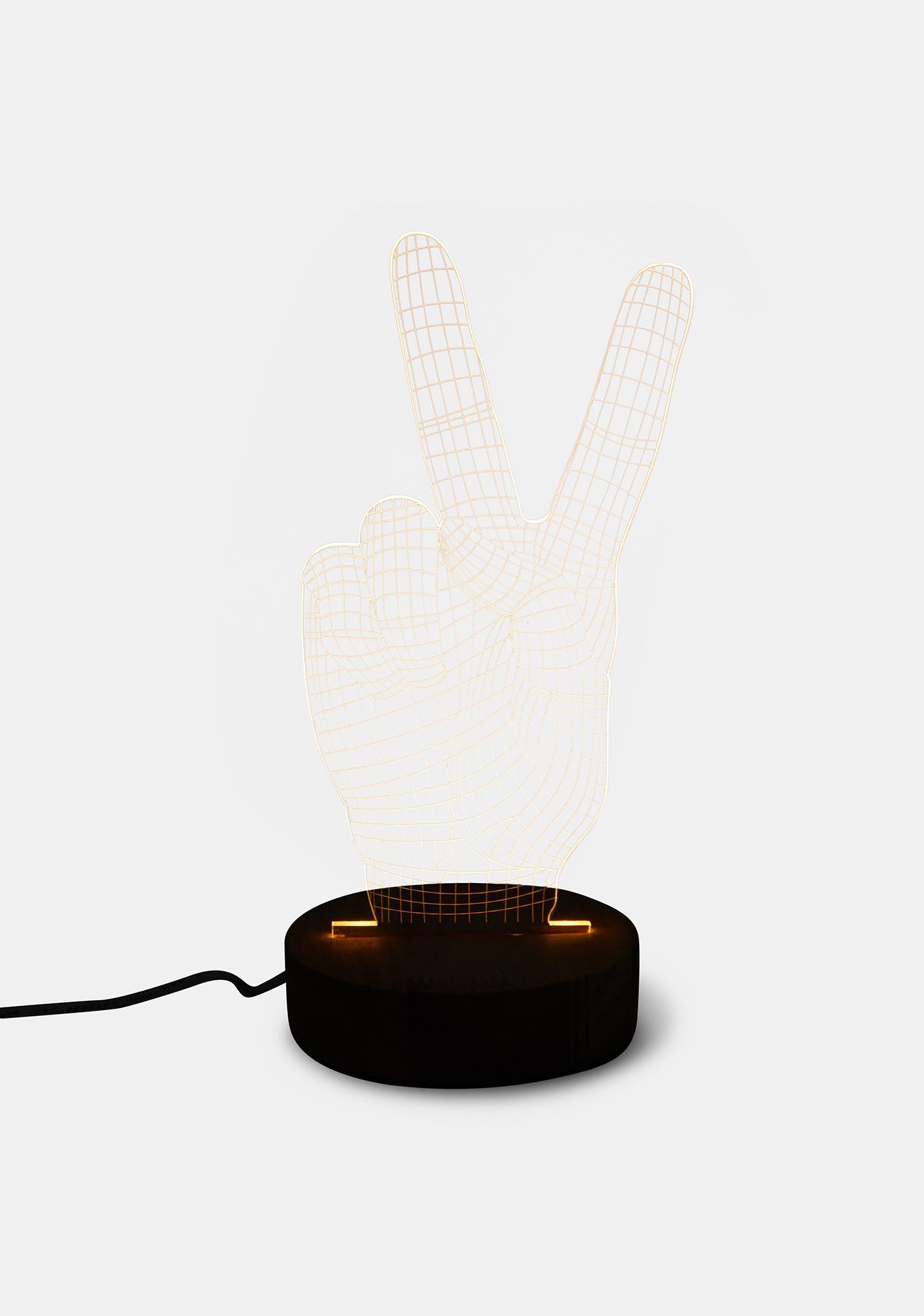 Amped & Co Peace 3D Illusion Light