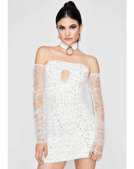 Angel Open Invite Off The Shoulder Dress