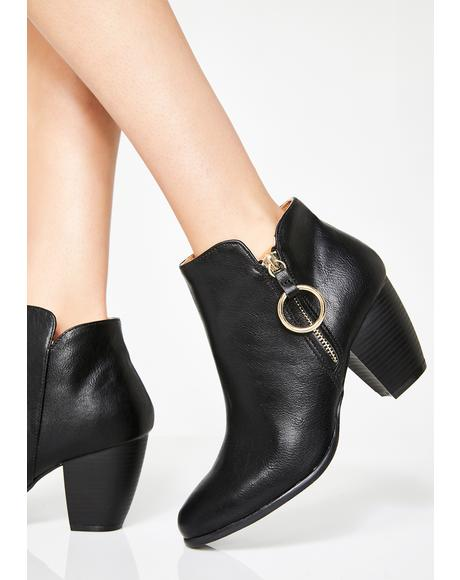 Good Karma O-Ring Booties