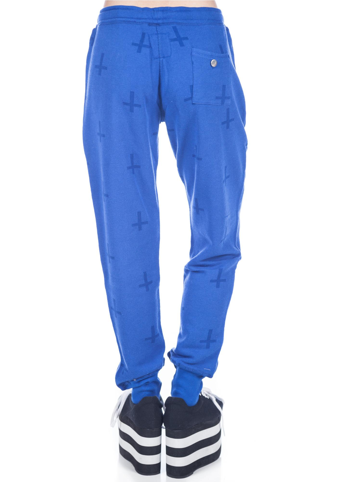Zoe Karssen Cross All Over Sweat Pants