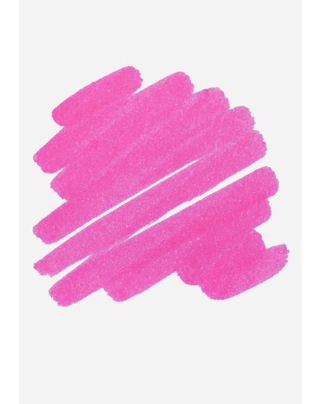 Felt Pink Lip Marker