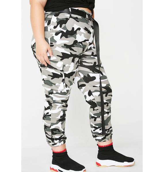 Empowered Babe Camo Pants