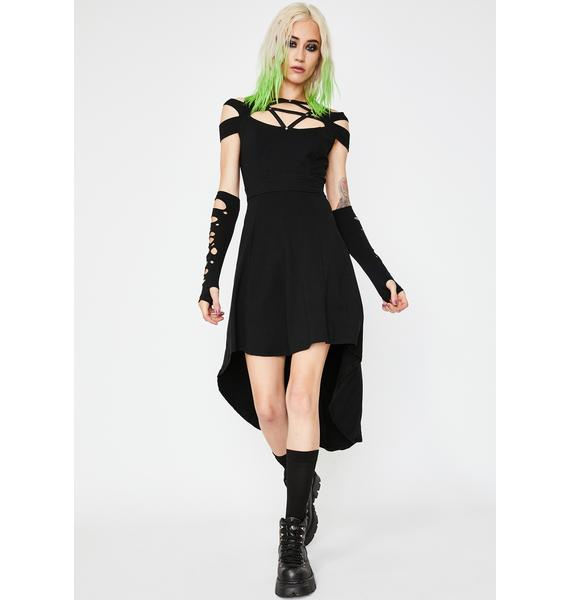 Tripp NYC Pentagram High Low Dress
