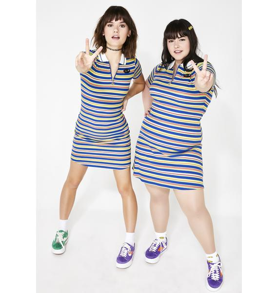 dELiA*s by Dolls Kill High School Sweetheart Polo Dress