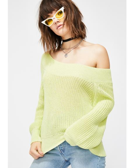 Get Dazed Knit Sweater