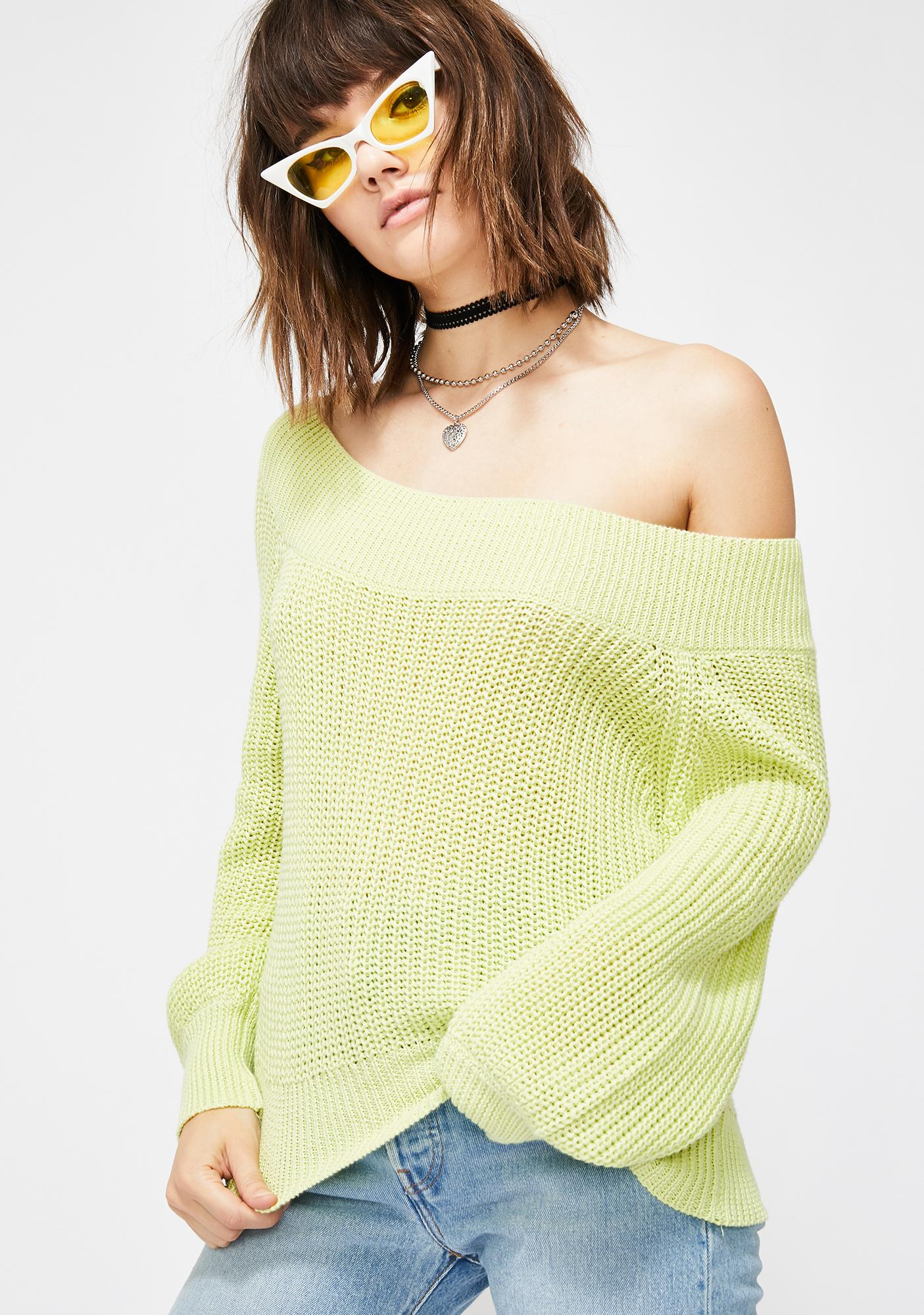 Get Dazed Knit Sweater