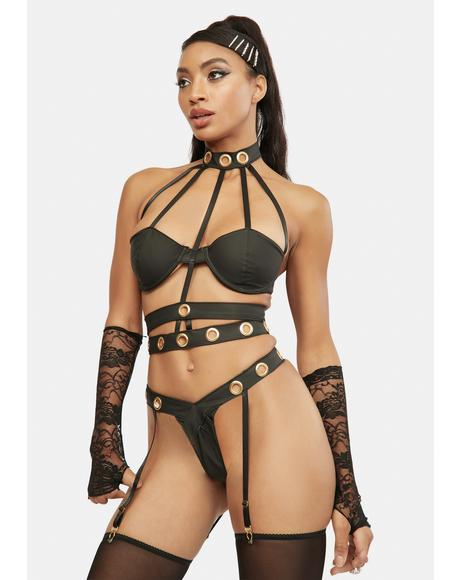 Seductive Cage Lingerie Set