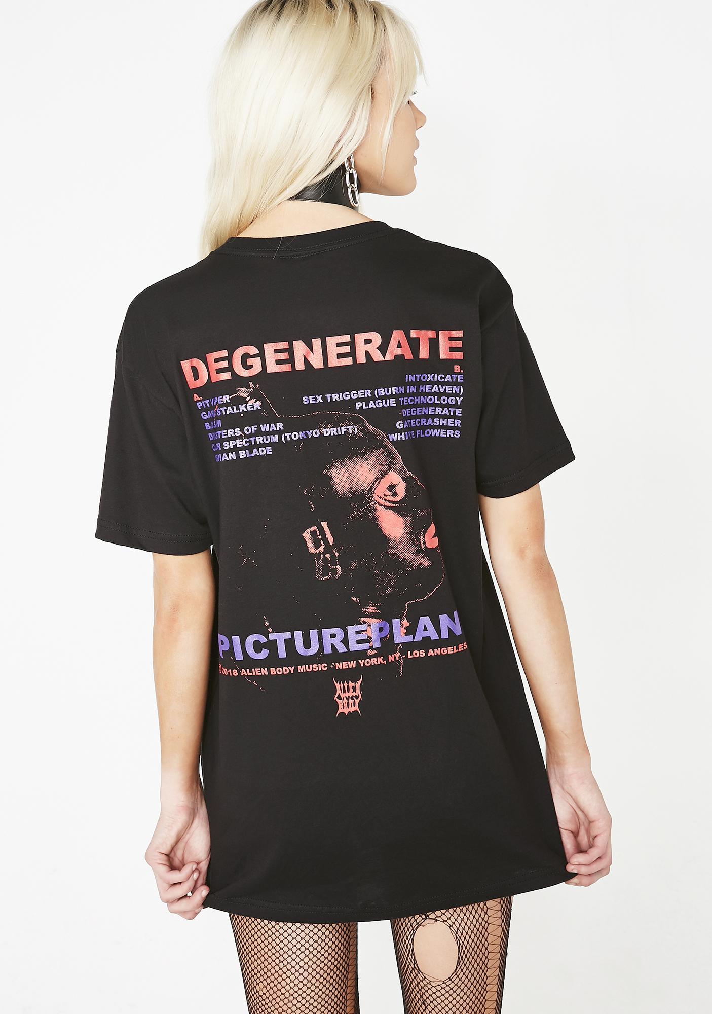 ALIEN BODY Degenerate T-Shirt