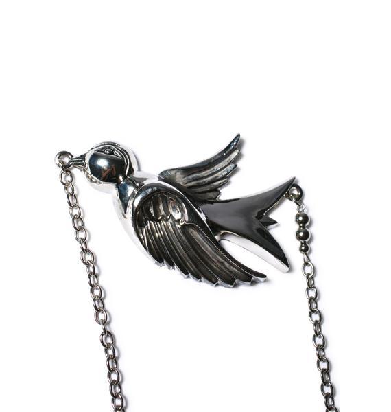 Large Sparrow Necklace