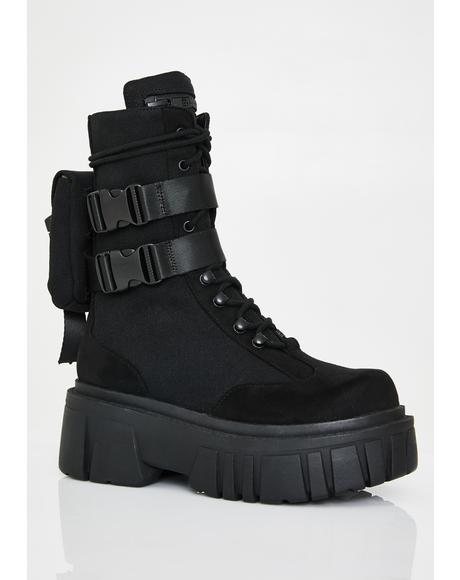 Renegade Rager Buckle Boots