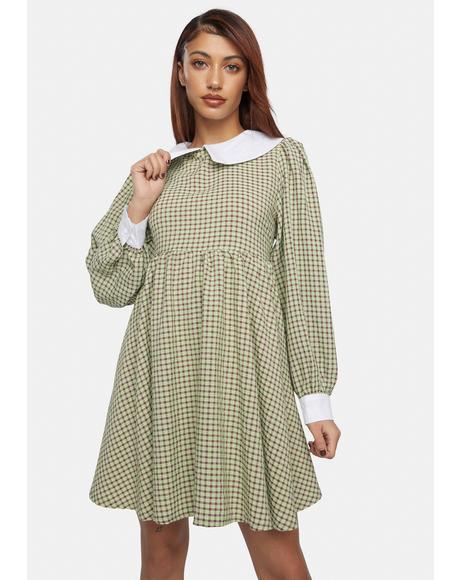 Peter Pan Mini Dress