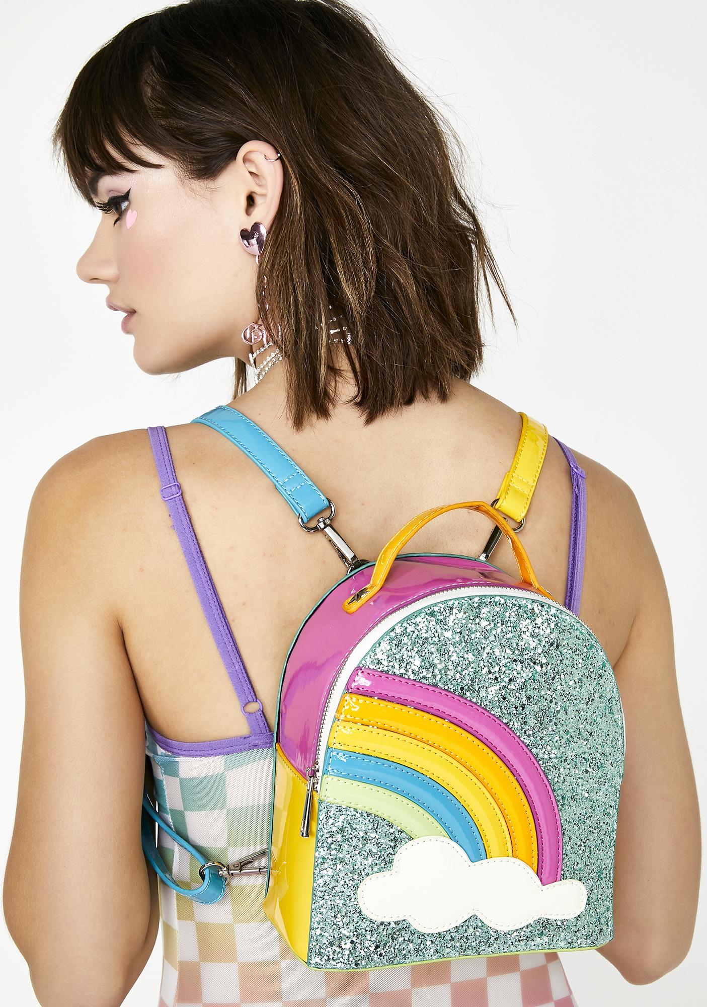 Sugar Thrillz Sparkle Rainbow Clique BFF Backpack