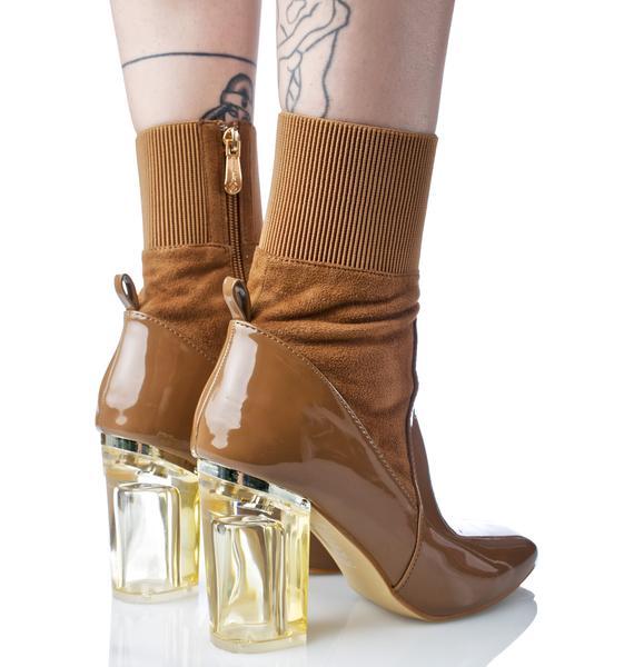 Mocha Provocateur Boots
