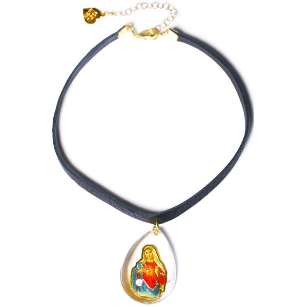 Vidakush Virgin Mary Choker