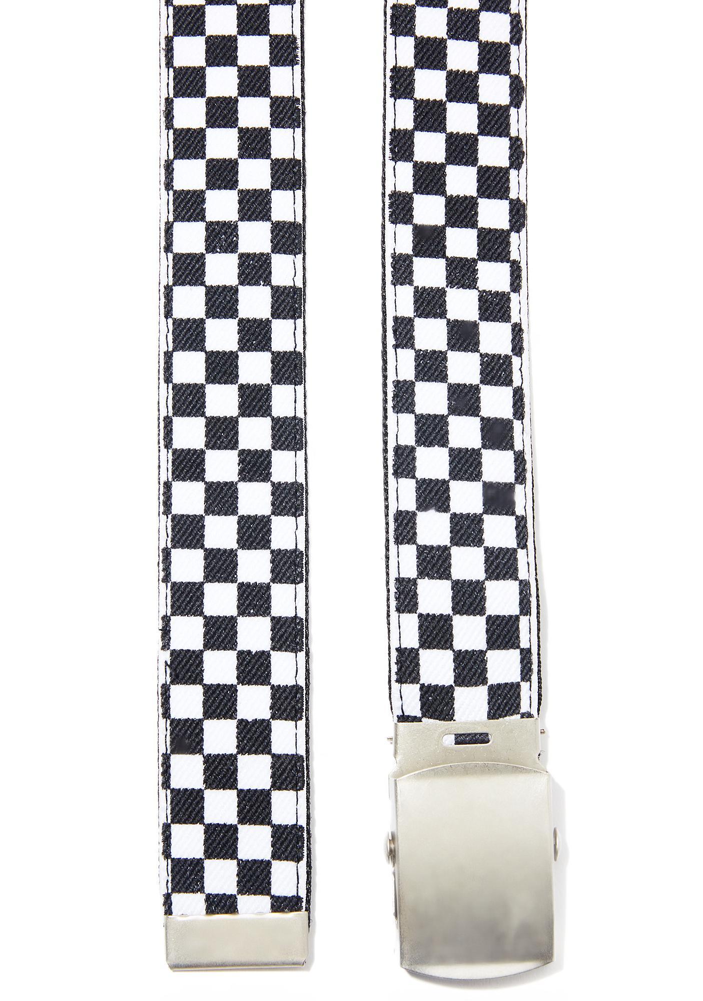 Defiance Checkered Belt