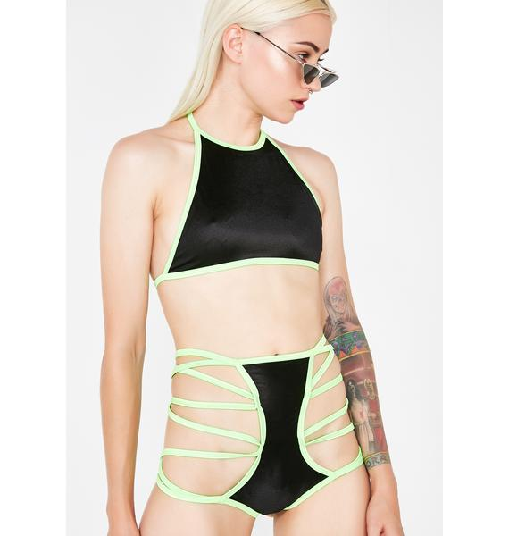 Devious Domina Strappy Set