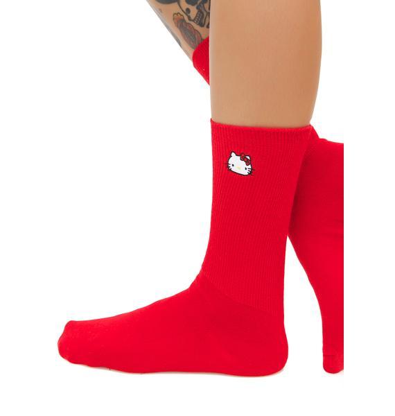 Lazy Oaf Hello Kitty Sock Pack #1