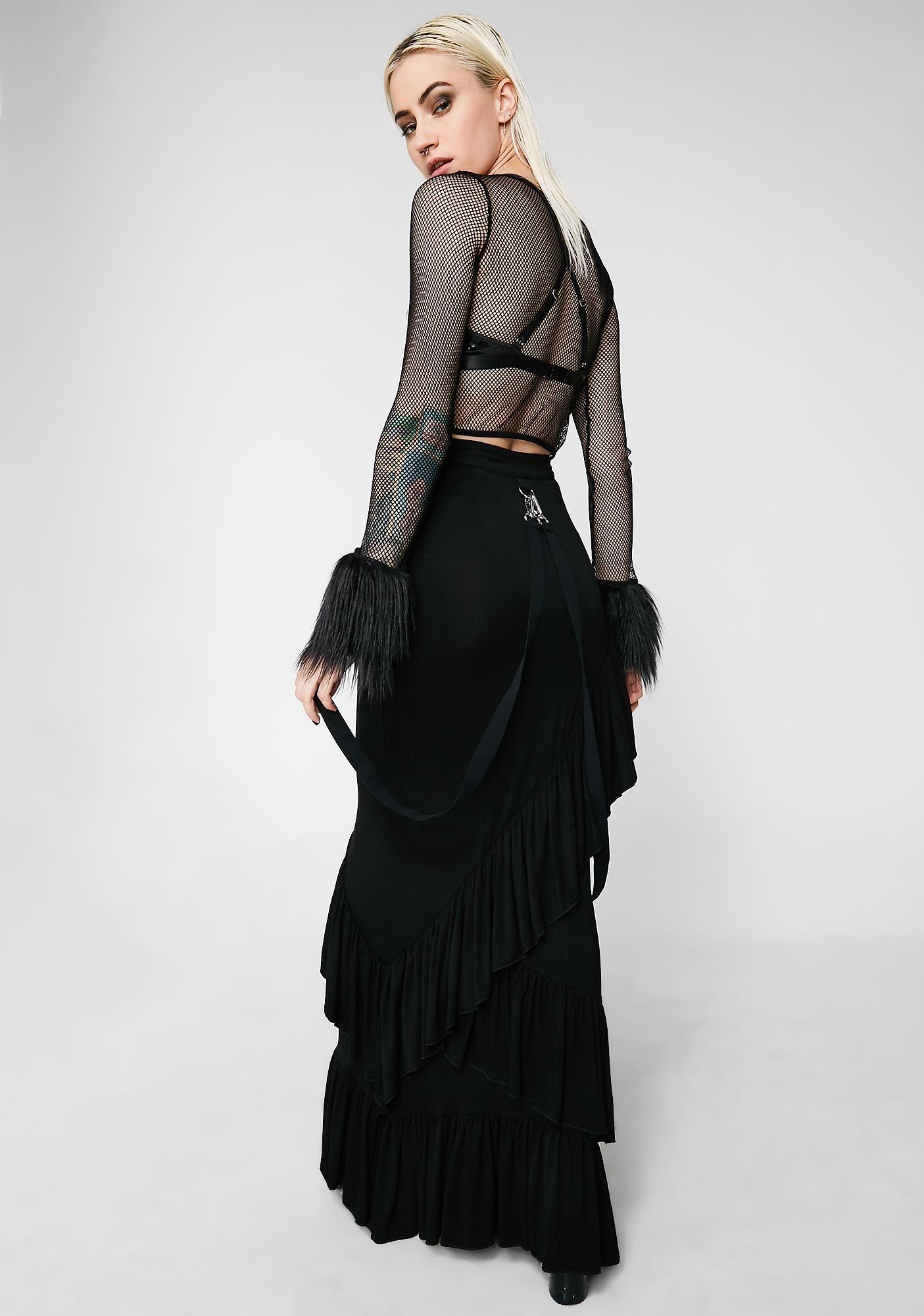 Killstar Wicked Wanderer Maxi Skirt