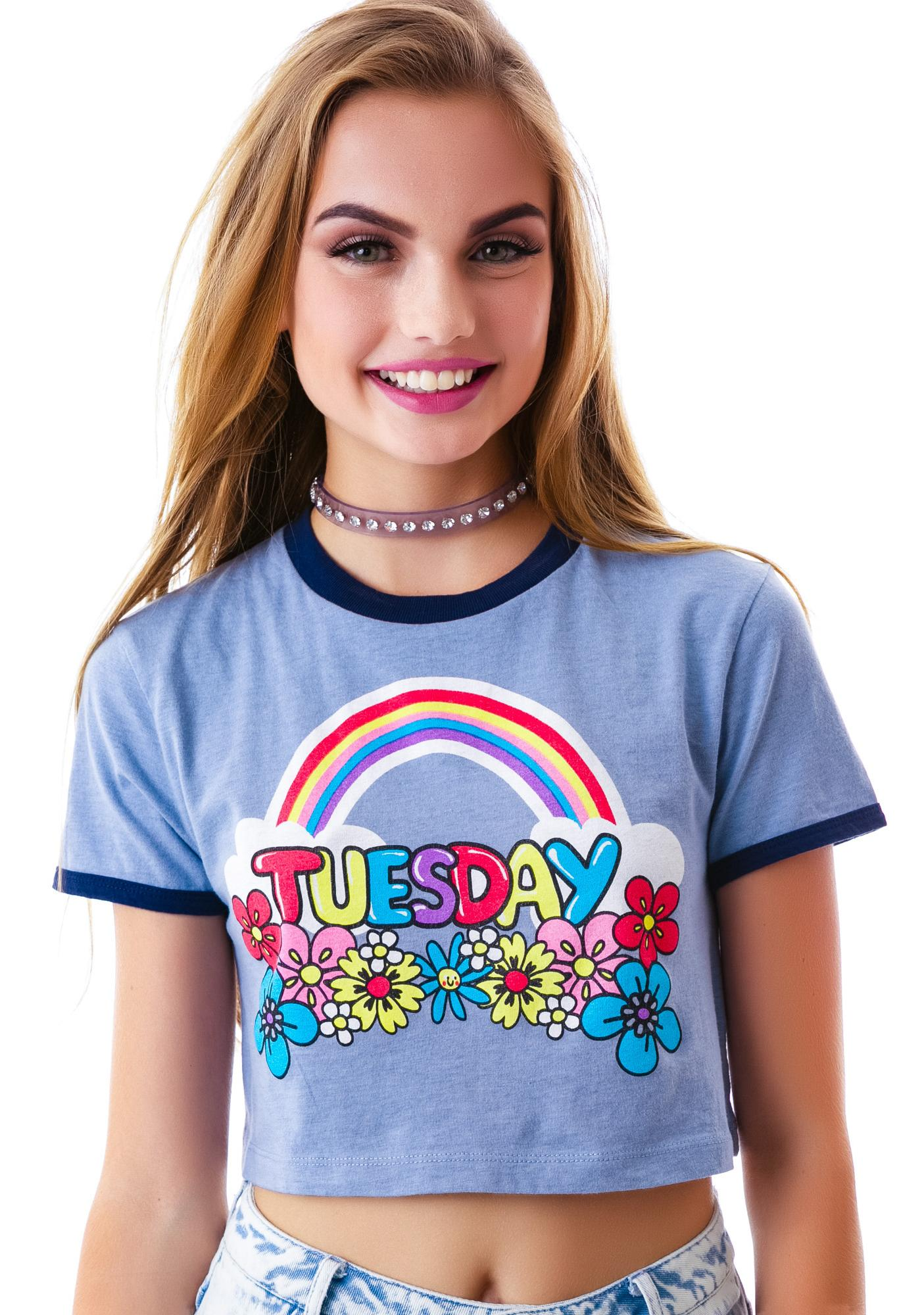 Lazy Oaf Tuesday Tee