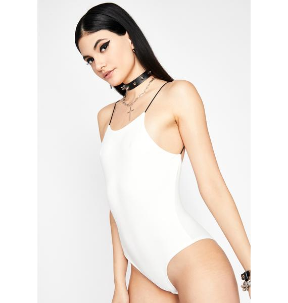 Angel Livin' Lit Cami Bodysuit