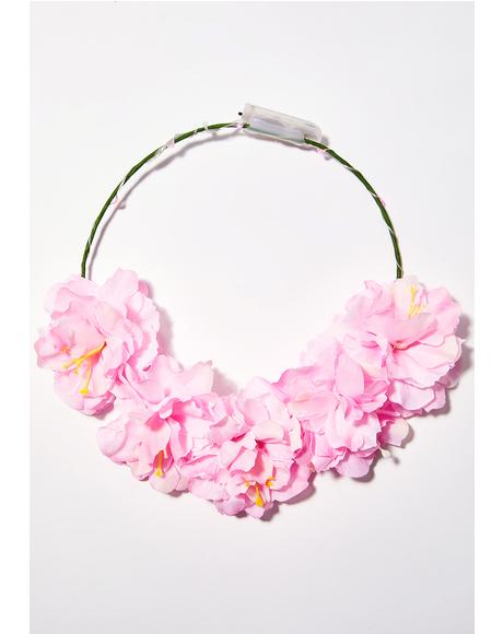 Candy Light-Up Flower Crown