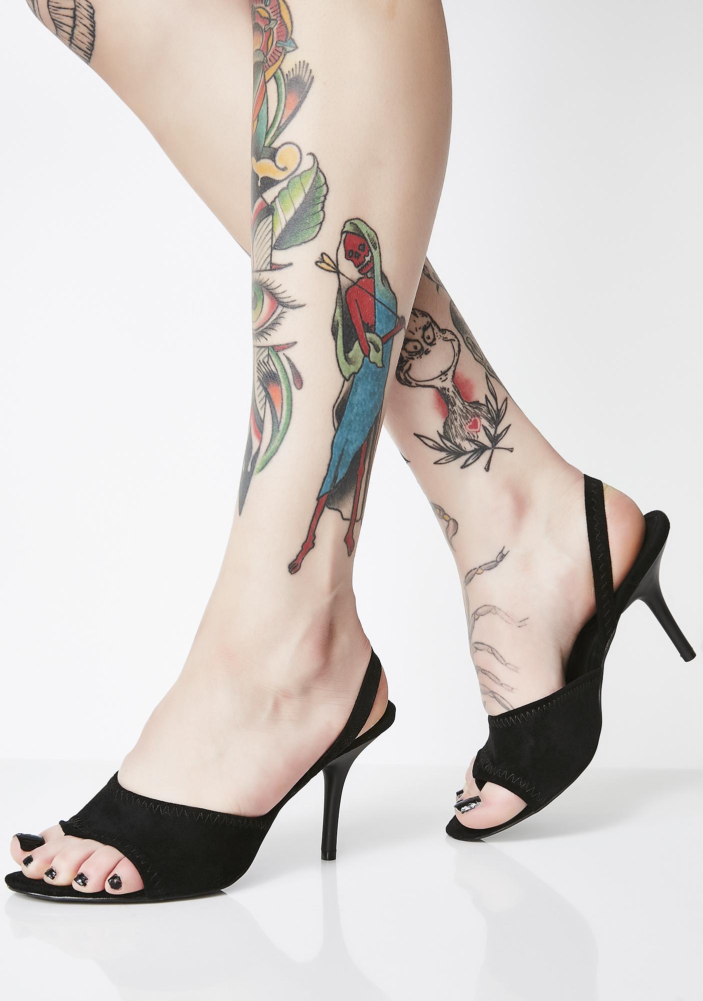 Pull the Receipts Slingback Heels