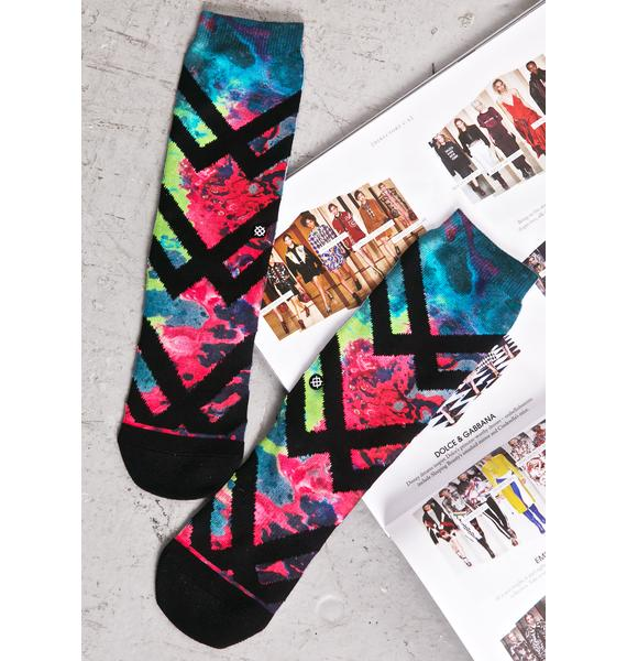 Stance Alien Acid Socks