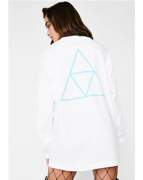 Triple Triangle Long Sleeve Tee