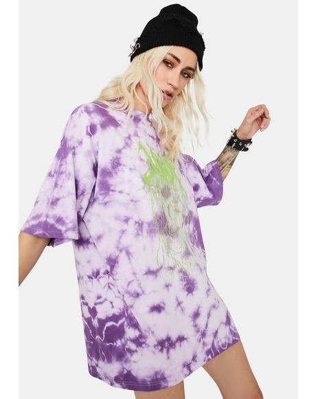 Violet Tie Dye Tee