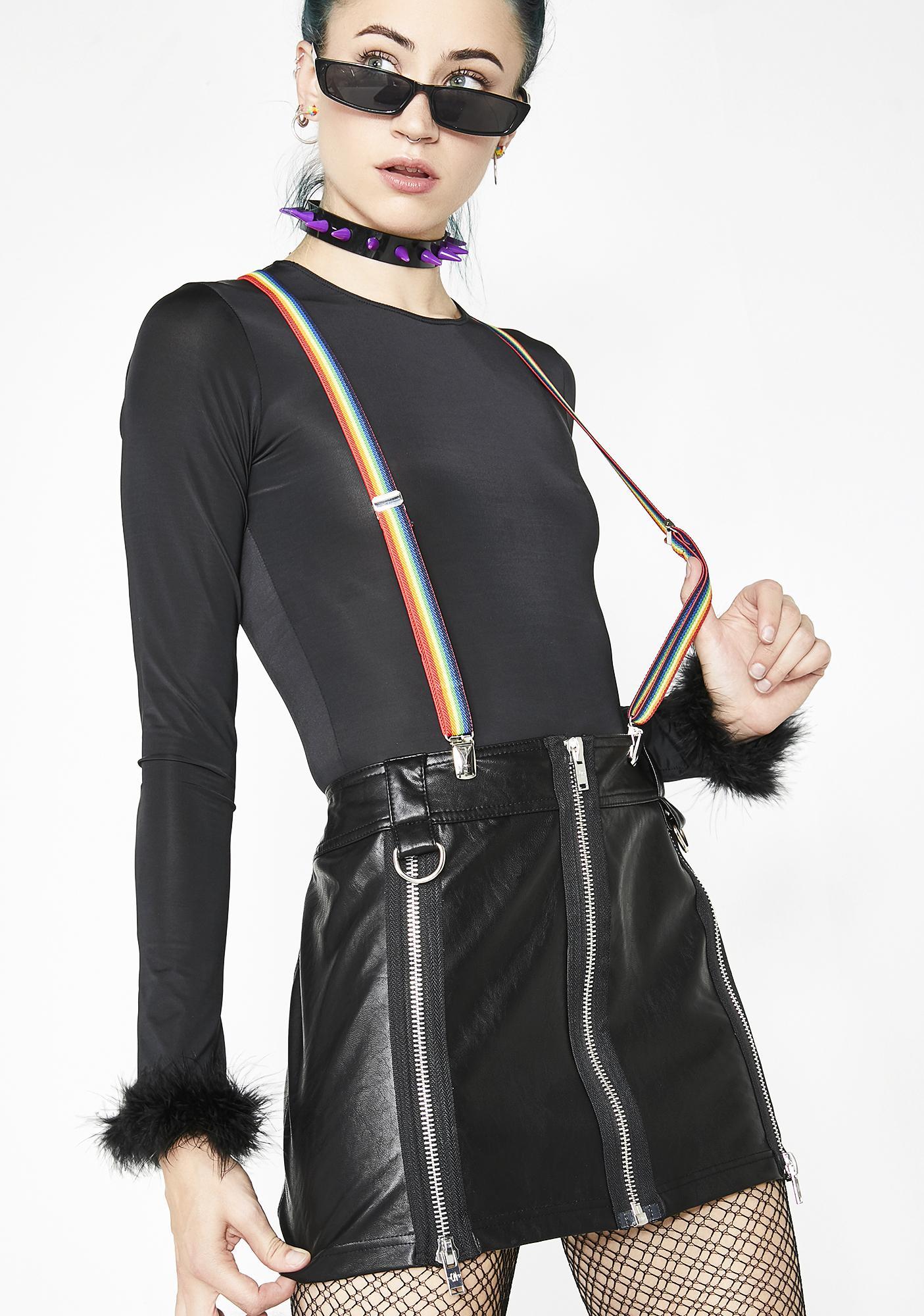 Current Mood Twilite Zone Mini Skirt