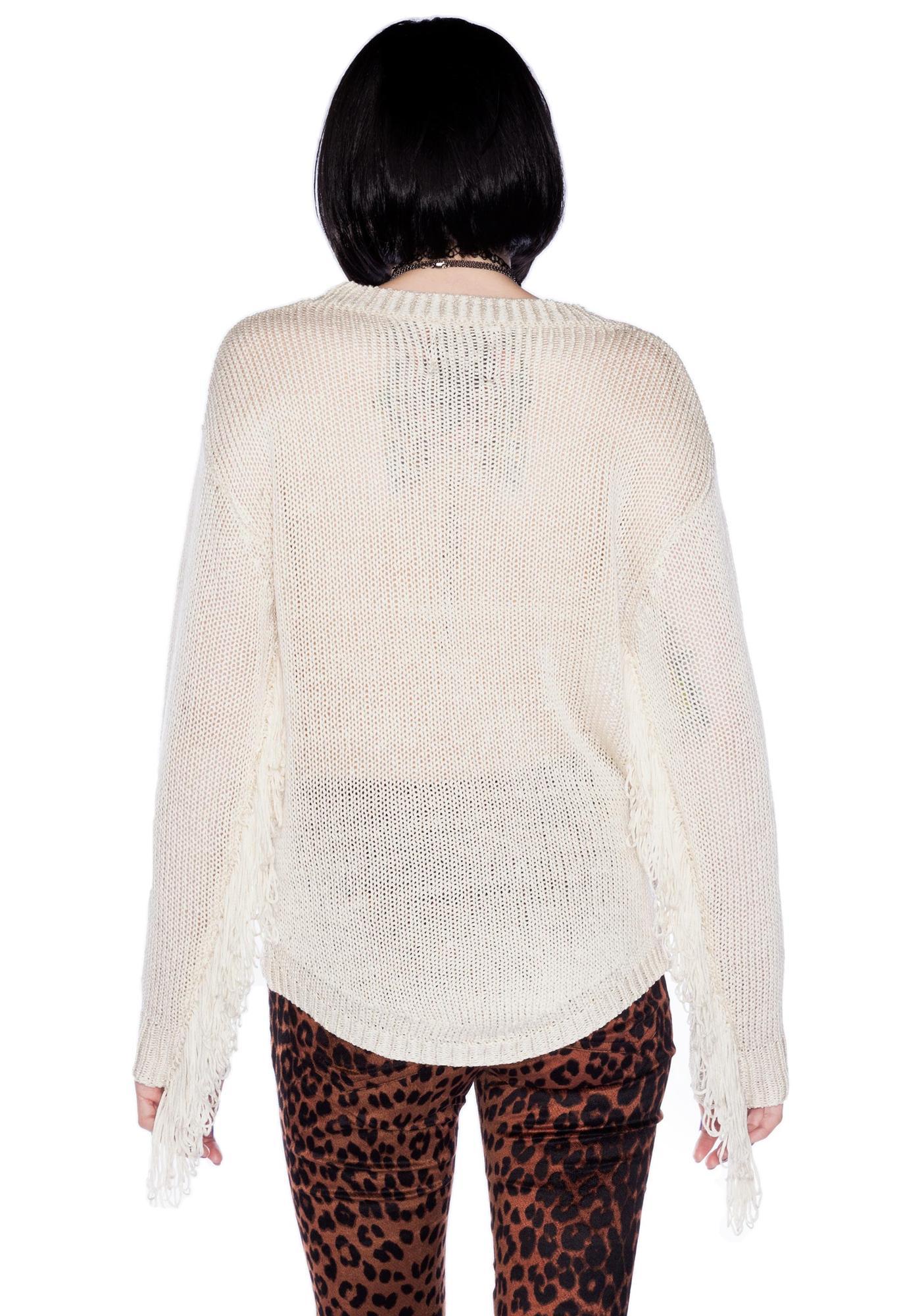 UNIF Evil Face Sweater