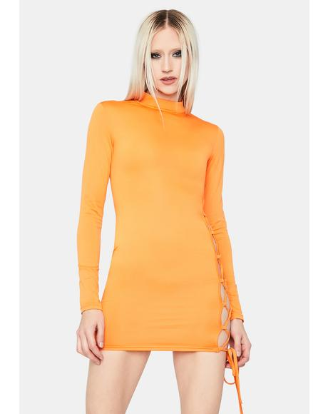 Crush Seeking Guidance Mini Dress