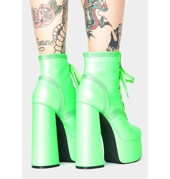 Plasma Gimme A Shot Platform Boots