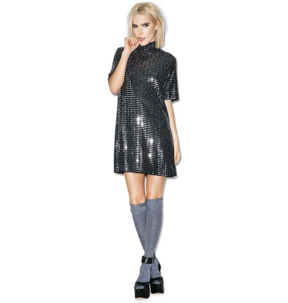All Shook Up Sequin Dress