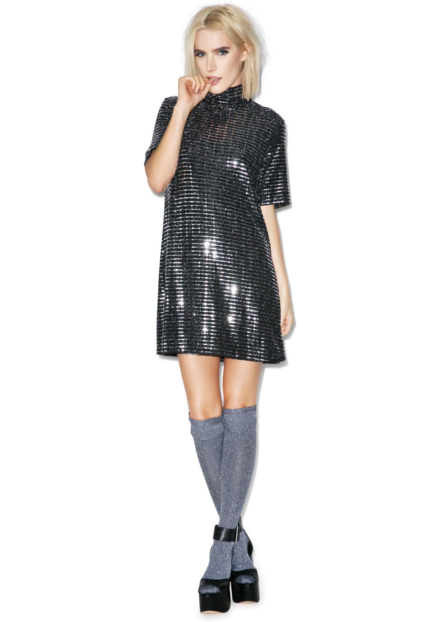 All Shook Up Sequin Dress