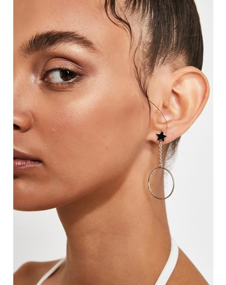 Stellar Shock Star Earrings