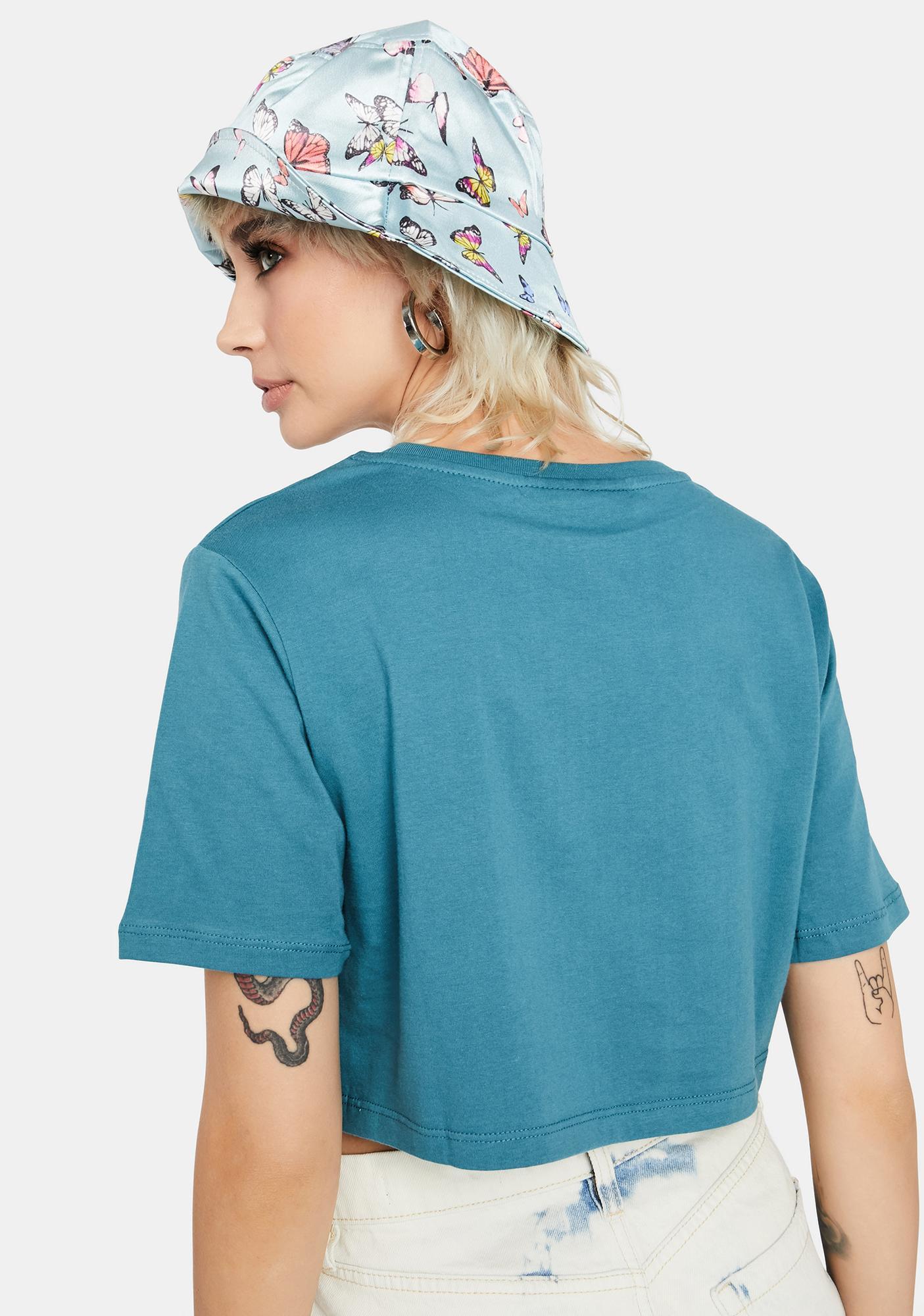 Criminal Damage Field Crop T-Shirt