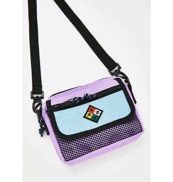 Lazy Oaf Small Zip Flag Bag