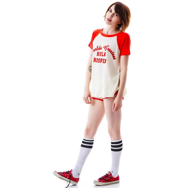 Wildfox Couture Hula Hooper Retro Raglan