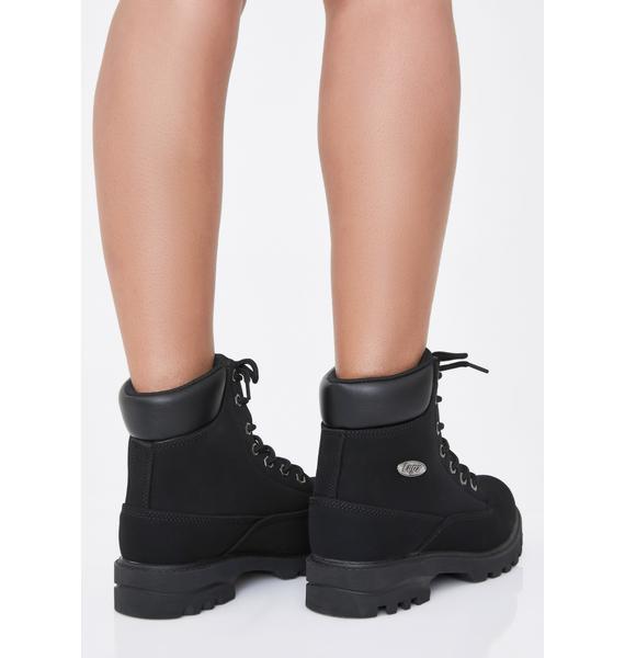 Lugz Onyx Empire Hi WR Boots