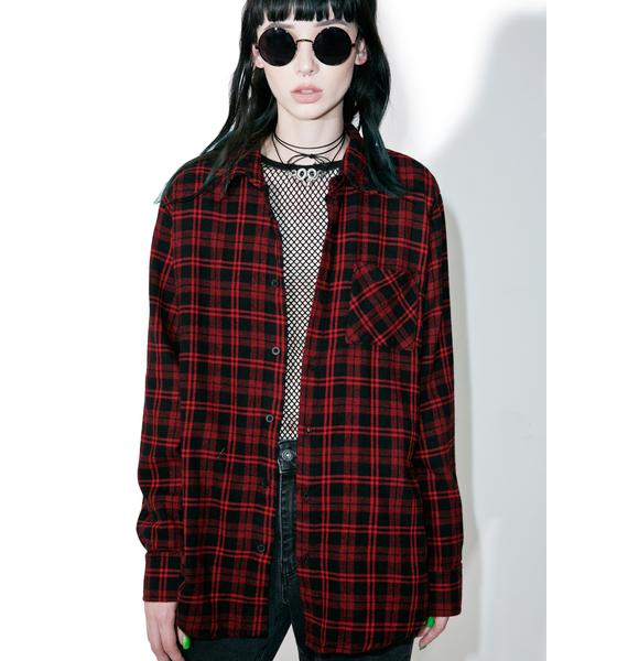 Jac Vanek Never Enough Flannel