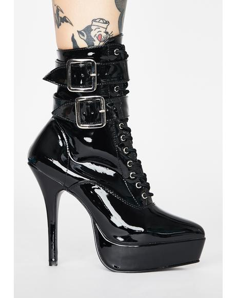 Hot Indulgence Heeled Boots