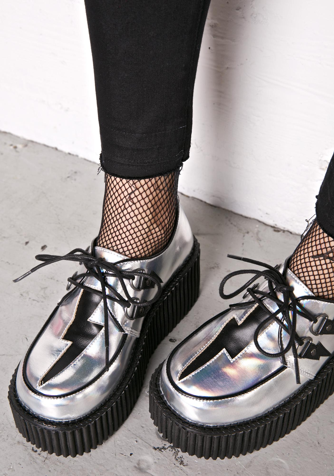 Demonia Space Sprite Holographic Creepers