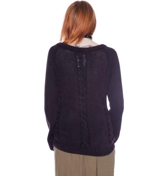 One Teaspoon Castaway Knit Top