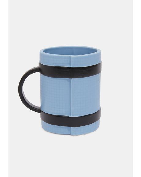 Aqua Yoga Mat Mug
