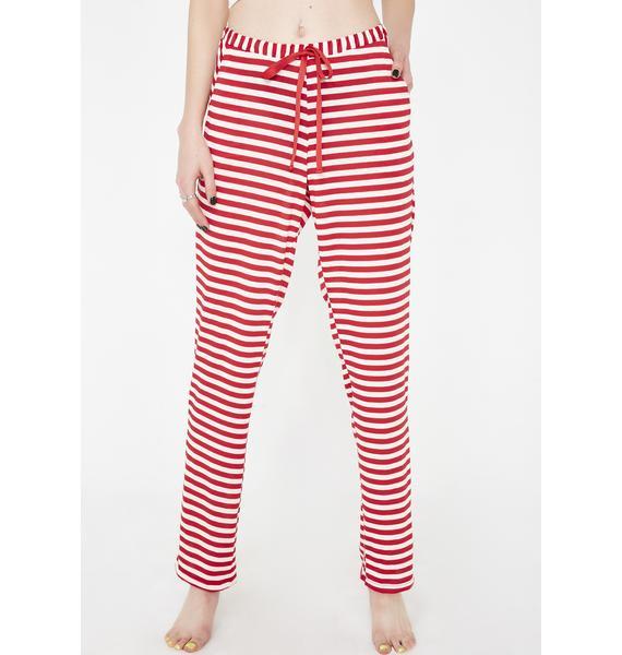 Santa Bae Bae Stripe Set